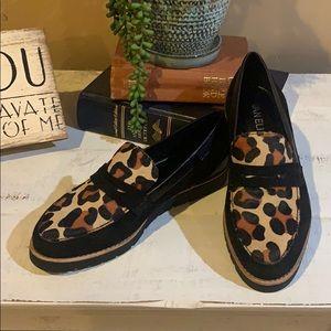 Vaneli Genuine Calf Fur Loafers NWT